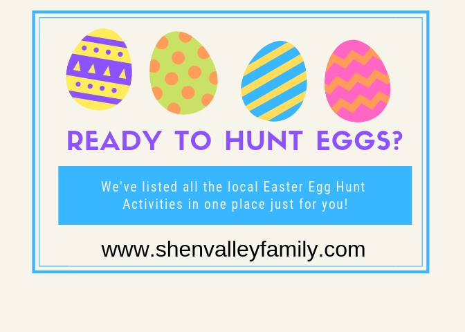 Complete List of Easter Egg Hunts in the Valley