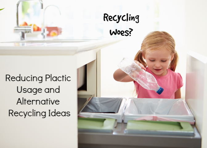How to Reduce Plastic and Some Alternatives for Recycling While Local Services are Terminated